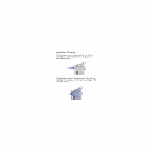 Venkovní jednotka Ubiquiti Networks PowerBeam M5 anténa 400mm 2x 25dBi, MIMO 5GHz