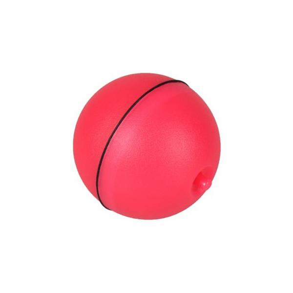 Flamingo Interaktivní hračka pro kočky míček s LED růžový průměr 6cm