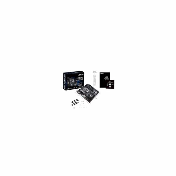 ASUS MB Sc LGA1151 PRIME H370M-PLUS, Intel H370, 4xDDR4, VGA,mATX