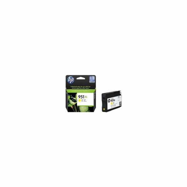 HP 951XL Yellow Ink Cart, 17 ml, CN048AE