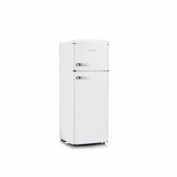 RKG 8935 WHITE RETRO chladnička 208L