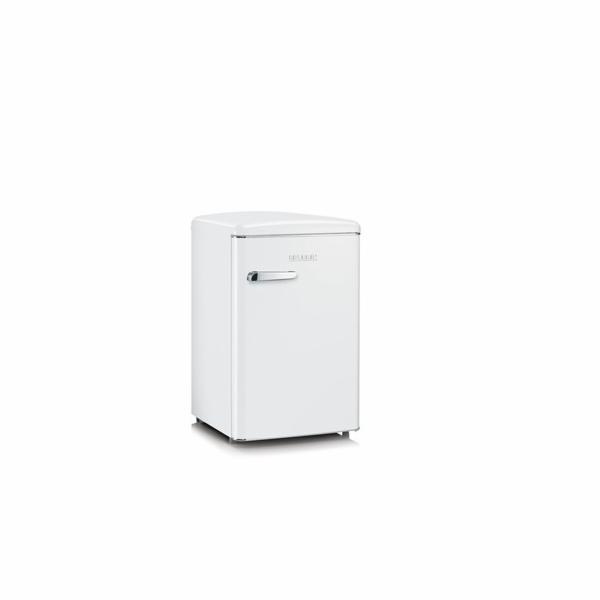 Kombinovaná lednice Severin, RKS 8835 WHITE, retro, 106 L, LED osvětlení, regulace teploty, oboustranné dveře, A+++, 41 dB, 4* mrazící prostor