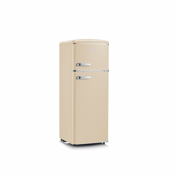 RKG 8933 CREAM RETRO chladnička 208L