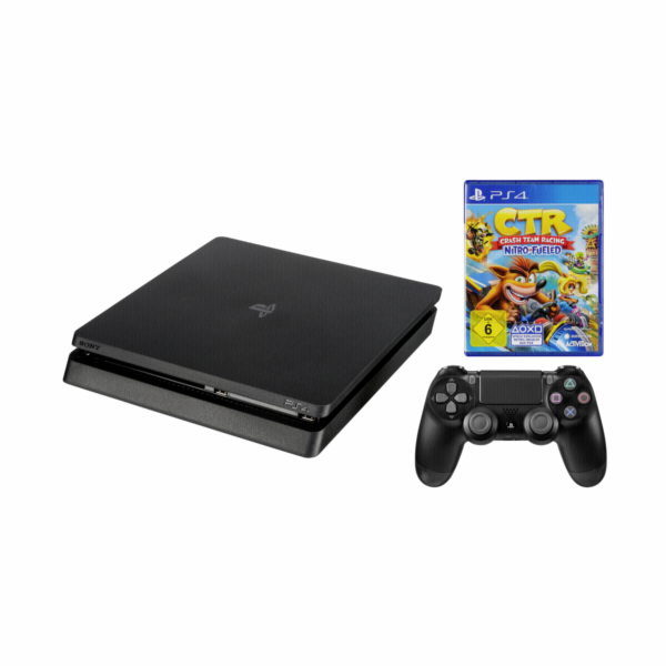 Sony Playstation 4 Slim 500GB incl. Crash Team Racing