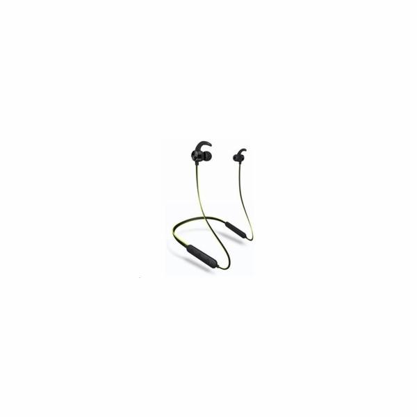 CONNECT IT Wireless Sport Running Bluetooth sluchátka do uší s mikrofonem, zelená