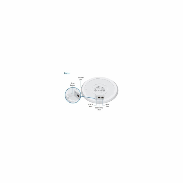 UBNT UniFi AP AC HD, 5-PACK, bez PoE! [2.4GHz(800Mbps)+5GHz(1733Mbps),4x4 MU-MIMO, 802.11a/b/g/n/ac/ac-wave2]