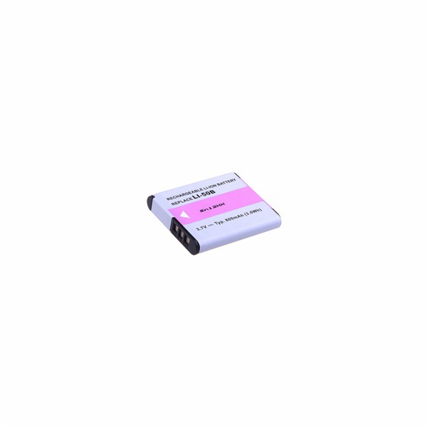Náhradní baterie AVACOM Olympus Li-50B, Pentax D-LI92 Li-ion 3.7V 800mAh 3.4Wh