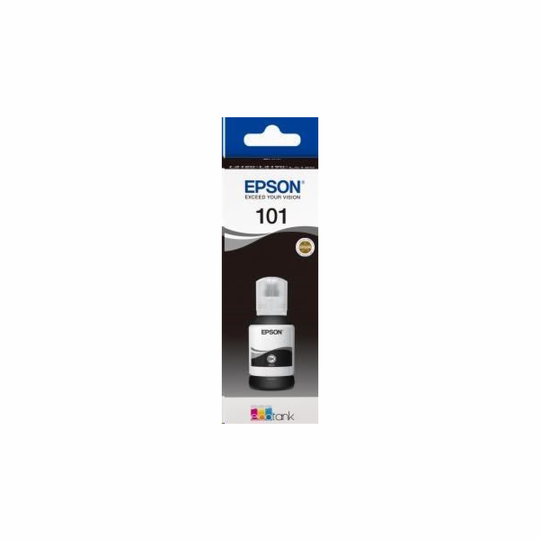 EPSON ink čer 101 EcoTank Black ink bottle 127 ml