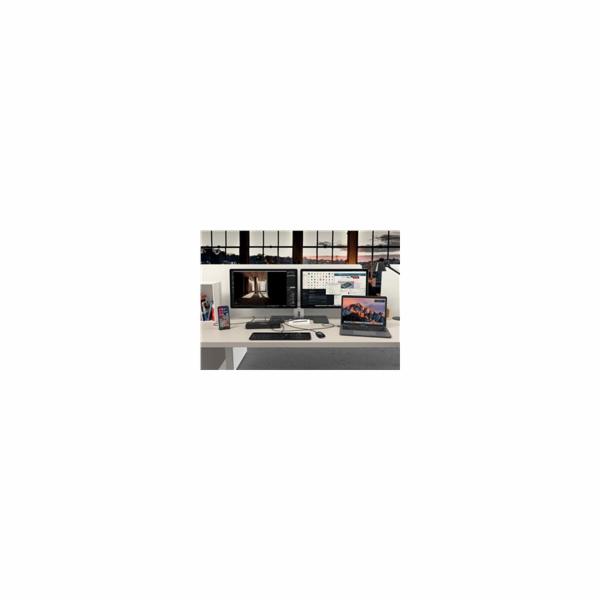 i-tec Thunderbolt 3 Dual 4K Docking Station + USB-C to DisplayPort Adapter + Power Delivery 85W