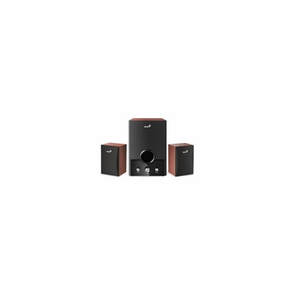 GENIUS repro SW-HF2.1 1700 v2/ 2.1/ 45W/ dřevěné