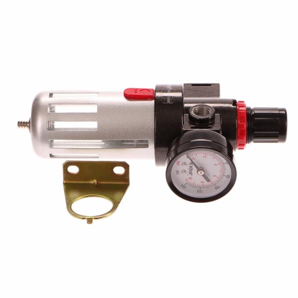 Regulátor tlaku s filtrem a manometrem, max. prac. tlak 8bar (0,8MPa) EXTOL-PREMIUM