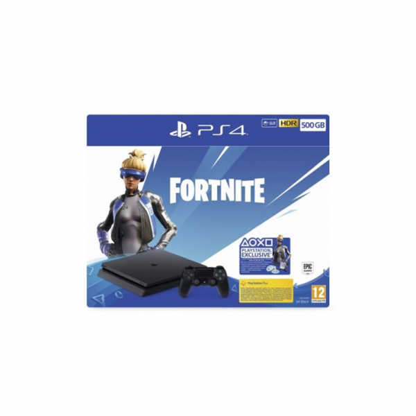 Sony PlayStation 4 Slim - 500GB+Fortnite