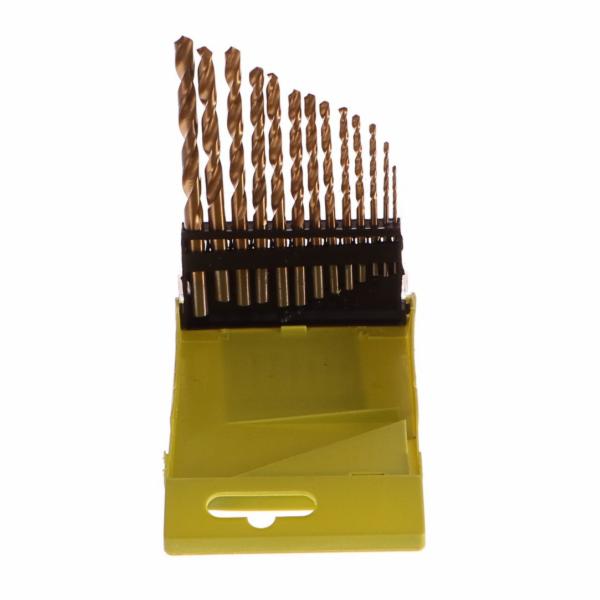 Vrtáky do kovu, sada 13ks, Ř1,5-6,5mm, HSS TiN EXTOL-CRAFT