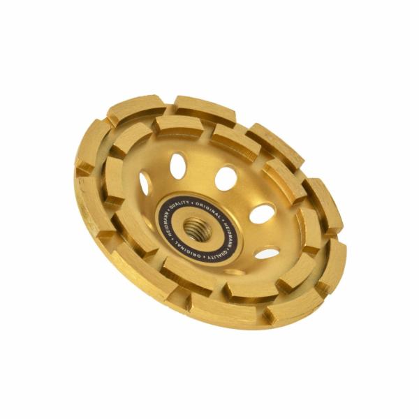 Diamantový brusný kotouč DOUBLE 125mm M14 GEKO