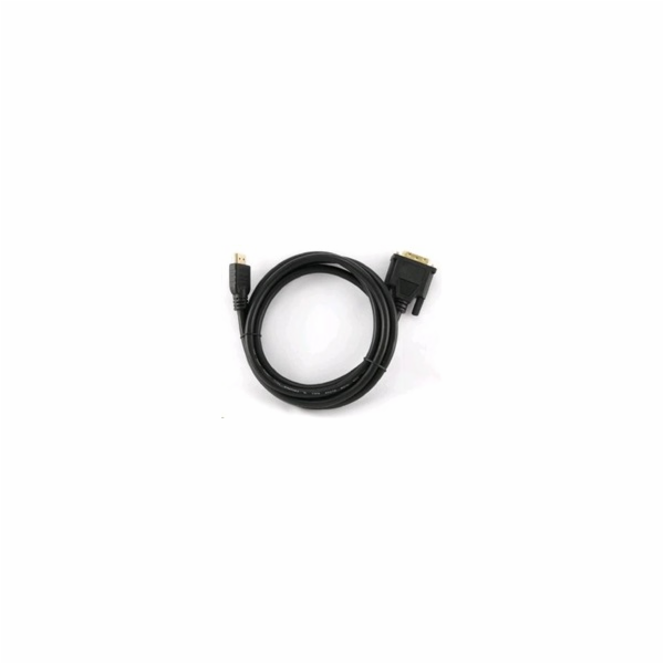 GEMBIRD Kabel HDMI - DVI 1,8m (M/M, DVI-D, Single Link, zlacené kontakty, stíněný)