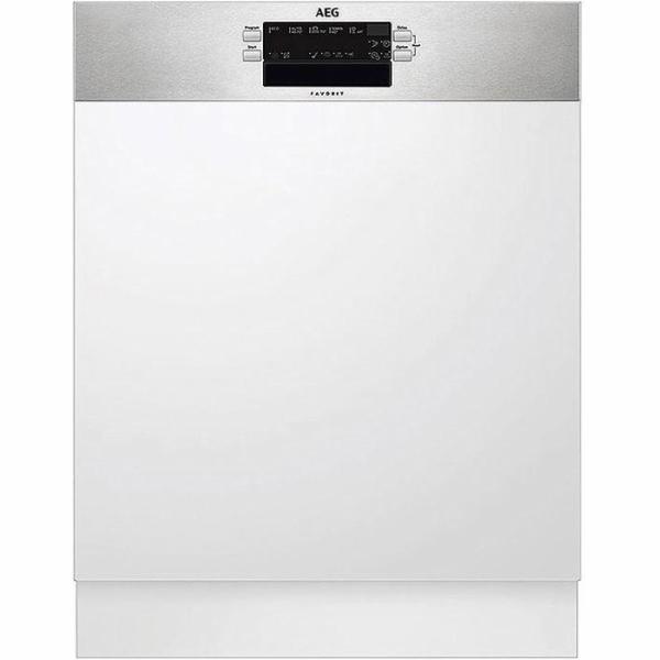 AEG FEB52600ZM A ++ Polointegrovaná myčka nádobí