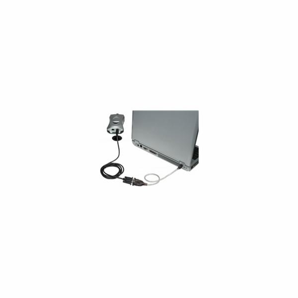 MANHATTAN Převodník z USB na sériový port (USB AM/DB9M, RS232), Polybag