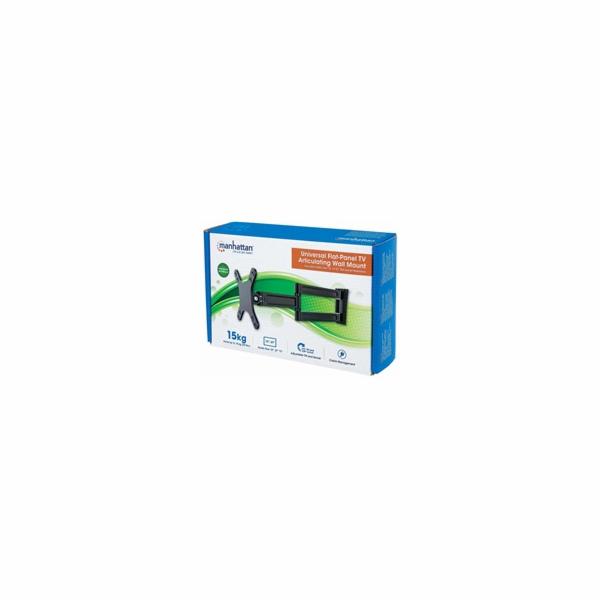 """MANHATTAN Nástěnný držák LCD / TV, kloubový, 13"""" až 27"""", 15 kg"""