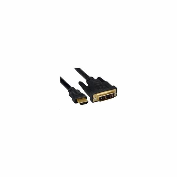 PremiumCord Kabel HDMI A - DVI-D M/M 2m