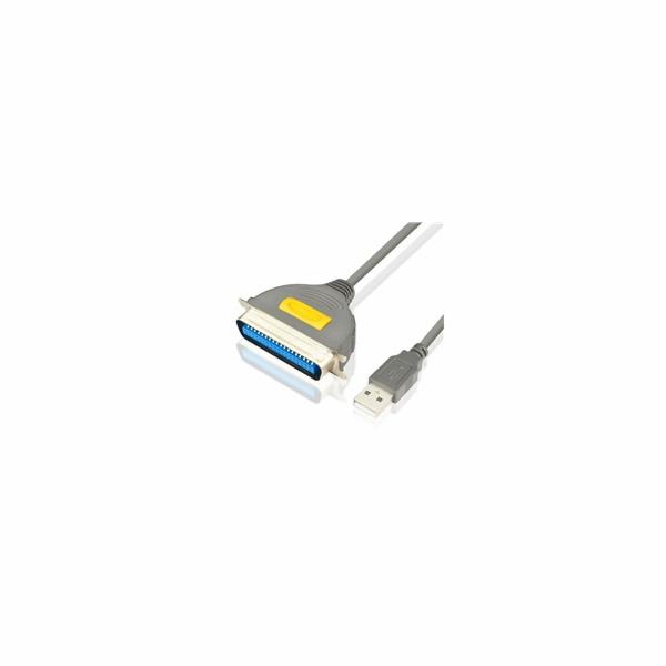AXAGON ADP-1P36, USB2.0 - paralelní 36 pin Centronics printer adaptér, 1.5m