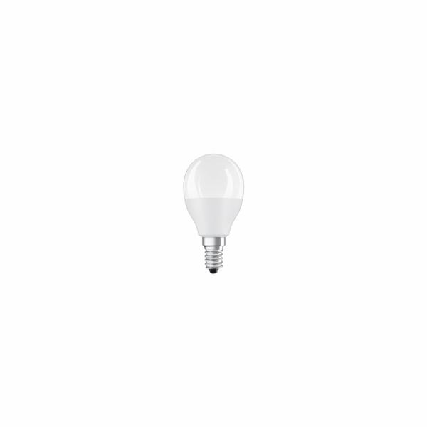 OSRAM LED STAR+ CL P RGBW Fros. 5,5W 827 E14 470lm 2700K (CRI 80) 25000h A+ DIMmable Rem Ctrl (Blistr 1ks)