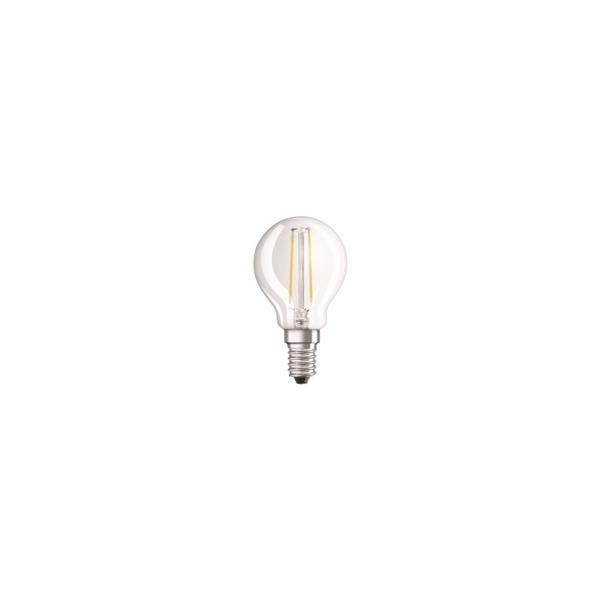 OSRAM LED Filament STAR ClasP 230V 2,5W 840 E14 noDIM A++ Sklo čiré 250lm 4000K 15000h (blistr 2ks)