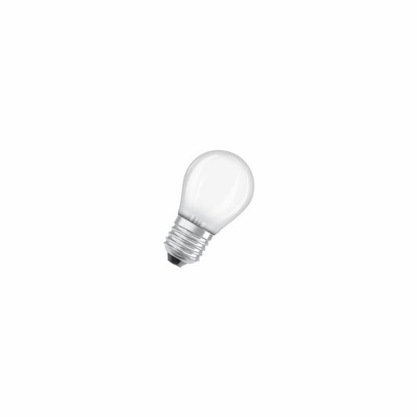 OSRAM LED LED ClasP 230V 4W 827 E27 noDIM A++ Sklo matné 470lm 2700K 10000h (krabička 3ks)