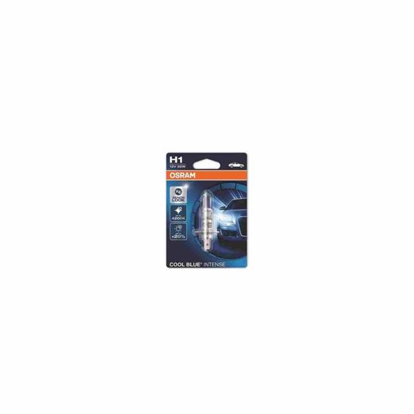 OSRAM autožárovka H1 COOL BLUE INTENSE 12V 55W P14,5s (Blistr 1ks)