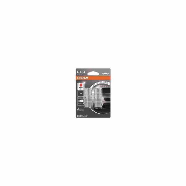 "OSRAM autožárovka ""P27/7W"" LEDriving® Standard 12V 3W W2.5x16q červená (Blistr 2ks)"