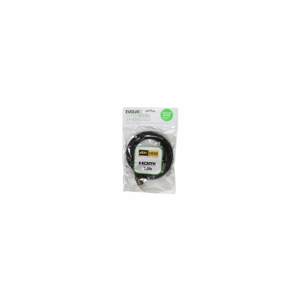 EVOLVEO XXtremeCord, kabel HDMI 2.0b, 2m, podpora UltraHD 4K2K/HDR