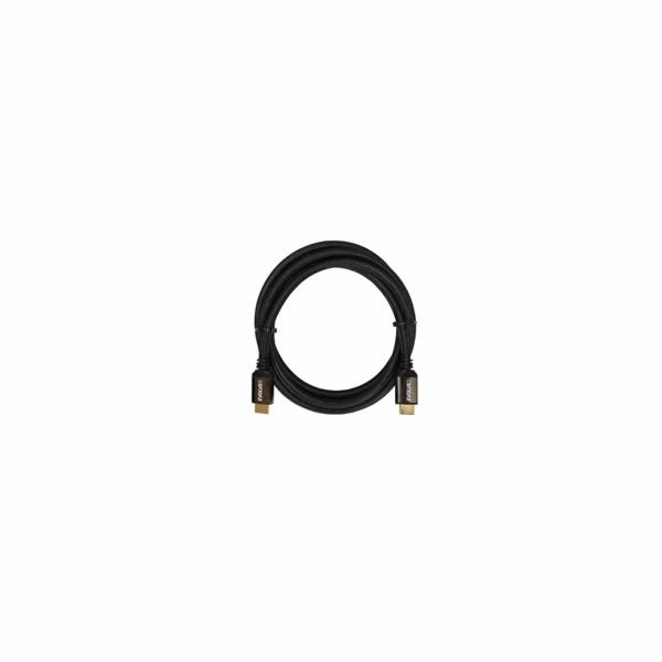 EVOLVEO XXtremeCord, kabel HDMI 2.1, 1m, podpora 8K4K2K/HDR, 48Gbps