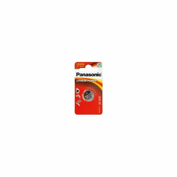PANASONIC Lithiová baterie (knoflíková) CR-2016EL/2B 3V (Blistr 2ks)