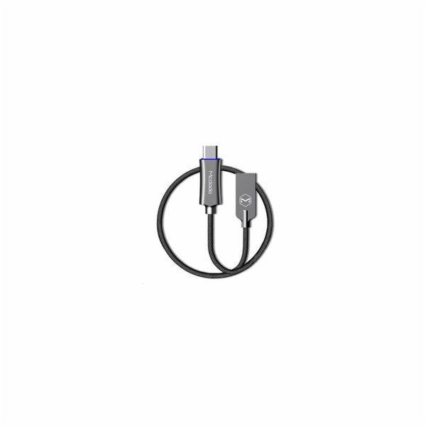 Mcdodo Knight Series Auto Disconnect Type-C Data Cable with Quick Charge 1m Grey