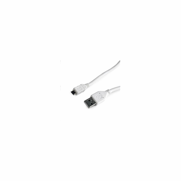 GEMBIRD Kabel CABLEXPERT USB A Male/Micro B Male 2.0, 0,5m, White, High Quality