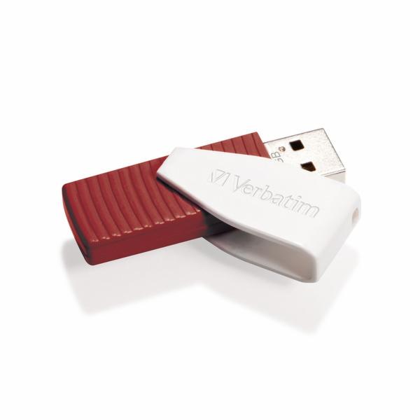 VERBATIM USB FD 16GB Swivel Red