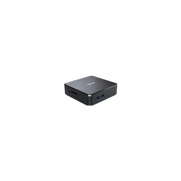 ASUS CHROMEBOX 3 - Celeron 3865U, 4GB, 32GB SSD, intel HD, WiFi, BT, Chrome OS, černý