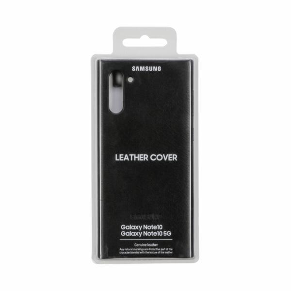Samsung Leather kryt cerna EF-VN 970 Galaxy Note 10