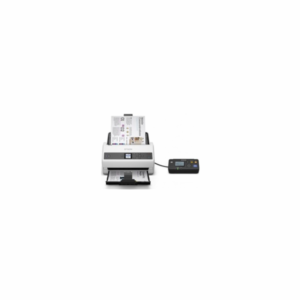 EPSON skener WorkForce DS-870N, A4, ADF 600x600dpi, USB 2.0