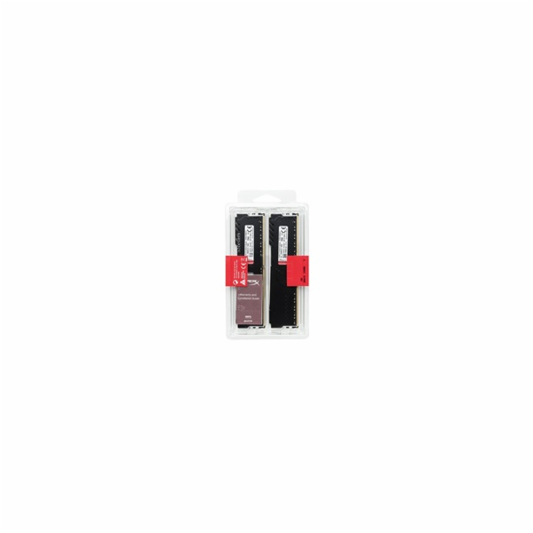 DIMM DDR4 8GB 2666MHz CL16 (Kit of 2) KINGSTON HyperX FURY Black 4Gbit
