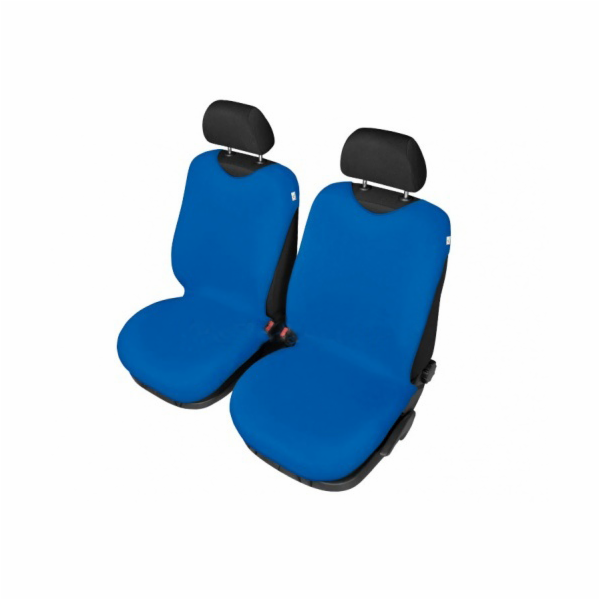 Autopotahy Tričko BAVLA na přední sedadla - světlé modré SIXTOL