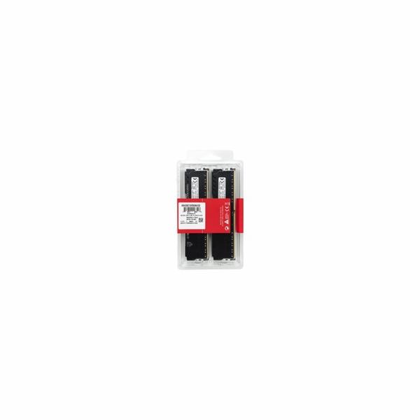 DIMM DDR4 64GB 3200MHz CL16 (Kit of 4) KINGSTON HyperX FURY Black