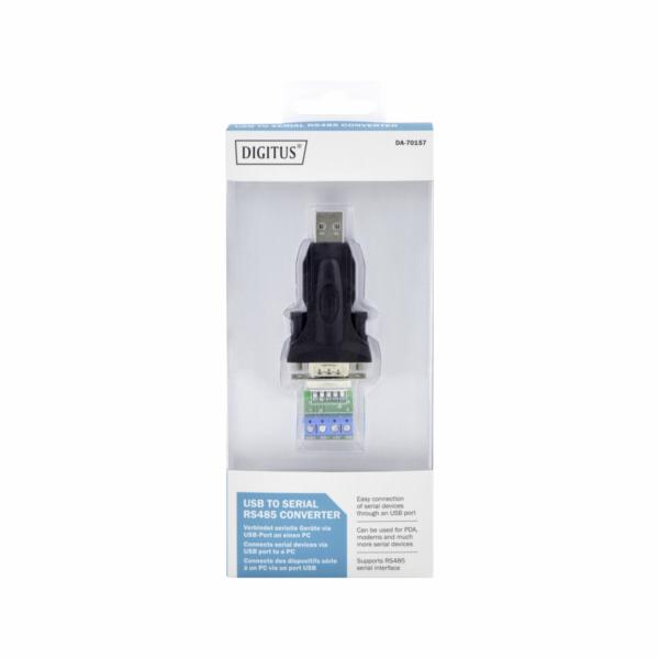 DIGITUS USB - Serial Adapter RS485 USB 2.0 redukce