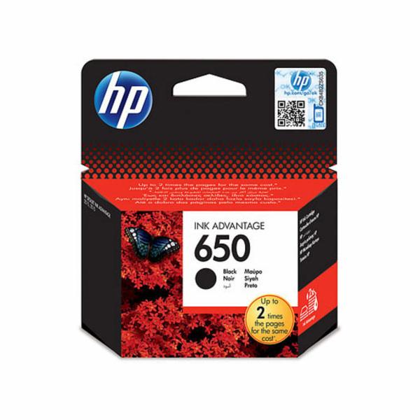 Inkoust HP Ink No 650 černá, CZ101AE