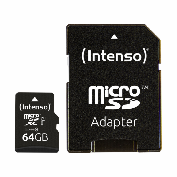 Intenso microSDXC 64GB Class 10 UHS-I Professional