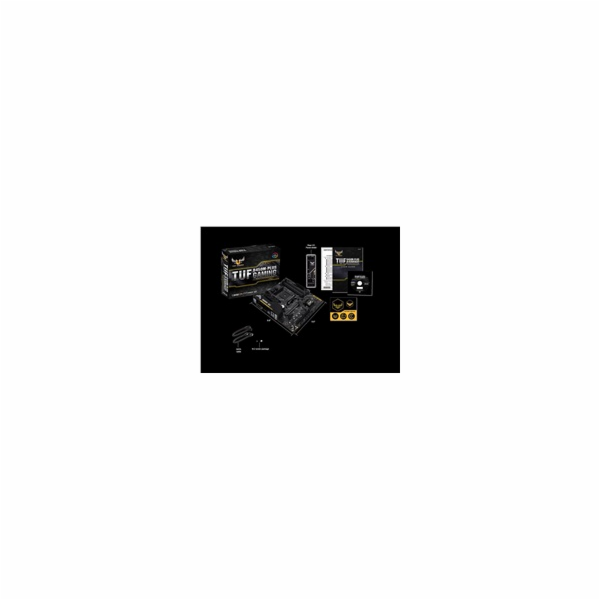 ASUS TUF B450M-PLUS GAMING soc.AM4 B450 DDR4 MATX PCIe M.2 USB-C DVI HDMI