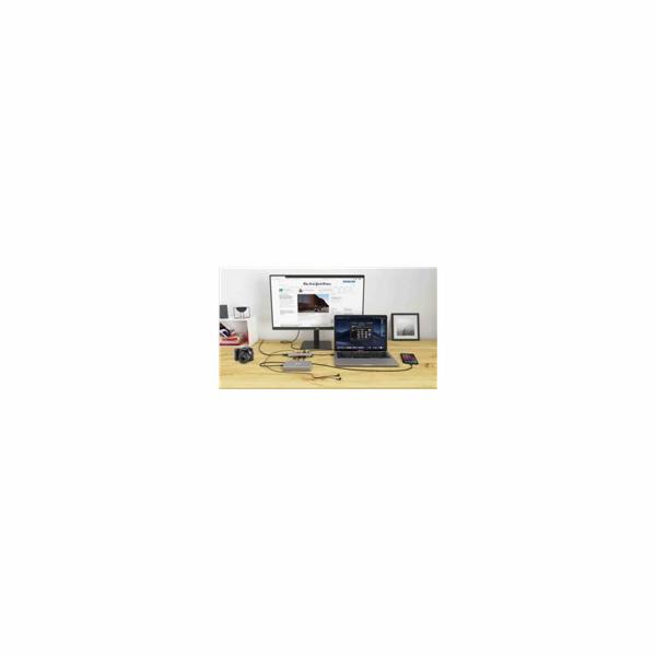 iTec USB-C Metal Nano Docking Station 4K HDMI LAN + Power Delivery 100 W