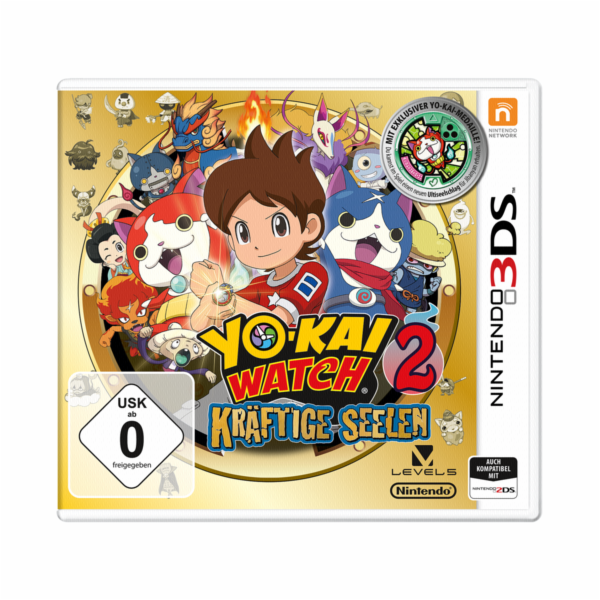 Nintendo 3DS YO-KAI Watch 2 Bony Spirits