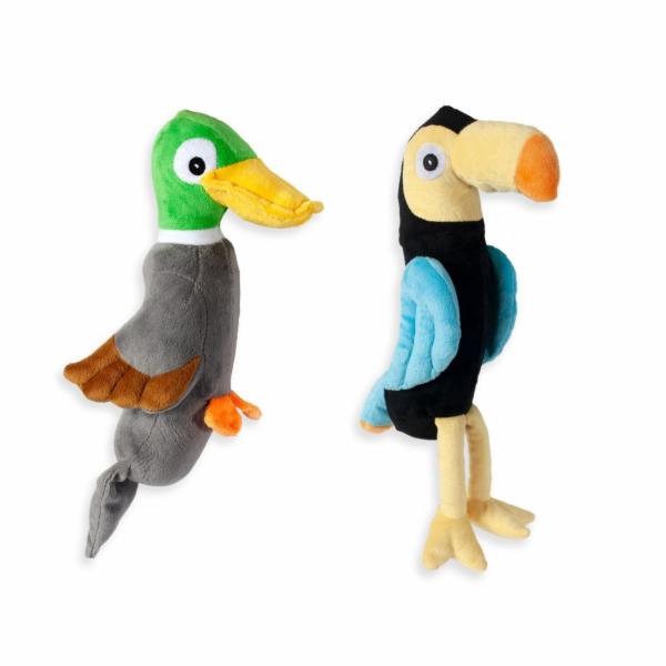 Karlie Plyšová hračka pro psy 36x14x8,5cm šedá
