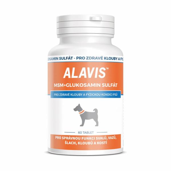 ALAVIS MSM + Glukosamin sulfát 60tbl