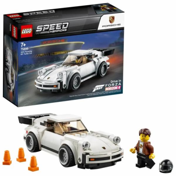 75895 Speed Champions 1974 Porsche 911 Turbo 3.0, Konstruktionsspielzeug